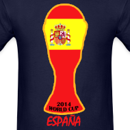 Design ~ Spain World Cup 2014 Trophy Shirt