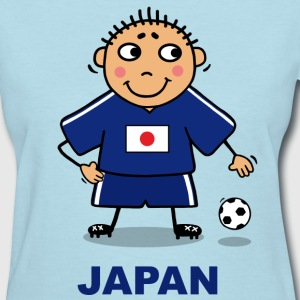 Soccer player - Japan Women's T-Shirts - Women's T-Shirt