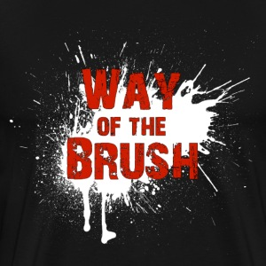 Official Way of the Brush T-Shirt - Men's Premium T-Shirt