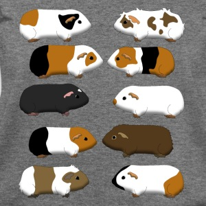 10 guinea pigs Long Sleeve Shirts - Women's Wideneck Sweatshirt