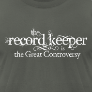 Design ~ the record keeper is the great controversy - men's