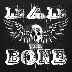 DAD to the BONE Winged Skull Grungebee Men - Men's Premium Tank