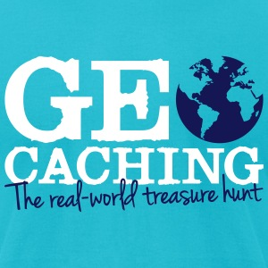Geocaching - the real-world treasure hunt T-Shirts - Men's T-Shirt by American Apparel