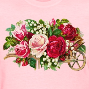Vintage Rose Cart Women's T-Shirts - Women's T-Shirt