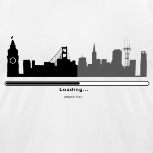 San Francisco Loading Bar - Men's T-Shirt by American Apparel