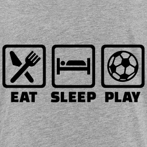 Eat sleep soccer Kids' Shirts - Kids' Premium T-Shirt