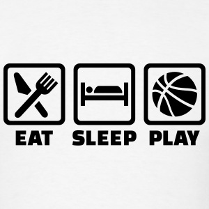 Eat Sleep Basketball T-Shirts - Men's T-Shirt
