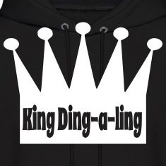King Ding A Ling Hoodies