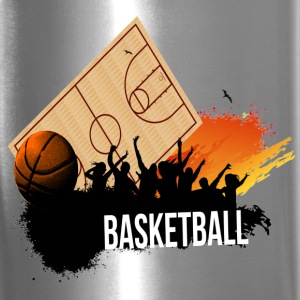 basketball-party-vector Bottles & Mugs - Travel Mug