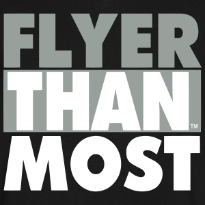FLYER THAN MOST - Men's V-Neck T-Shirt by Canvas