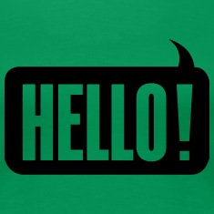 Hello! Women's T-Shirts