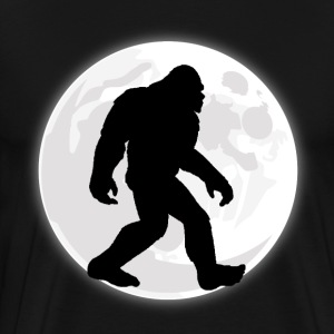 Bigfoot Moon - Men's Premium T-Shirt