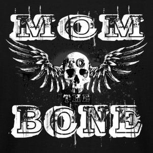 MoM to the BONE Winged Skull Grungebee 2 W T-Shirts - Men's Tall T-Shirt