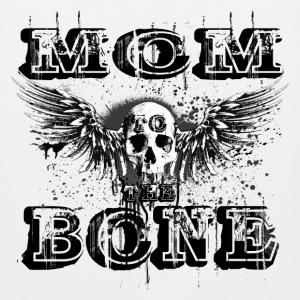 MoM to the BONE Winged Skull Grungebee 2 Men - Men's Premium Tank