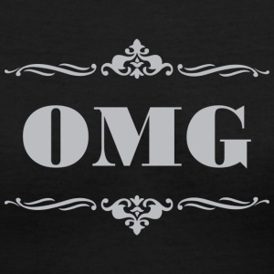 OMG - Women's V-Neck T-Shirt