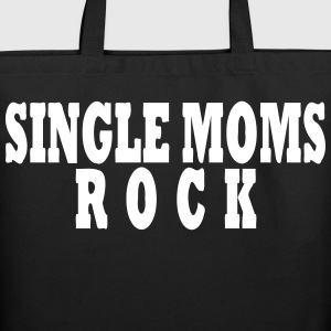 SINGLE MOMS ROCK - Eco-Friendly Cotton Tote