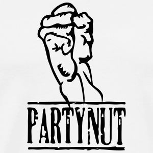 partynut / party nut  (1c) T-Shirts - Men's Premium T-Shirt