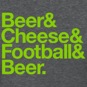 BEER & CHEESE & FOOTBALL & BEER Women's T-Shirts - Women's T-Shirt