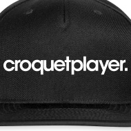 Design ~ croquetplayer Snapback