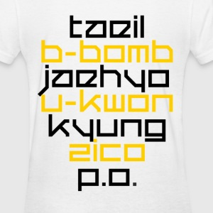 Block B Logo (with back) - Women's T-Shirt