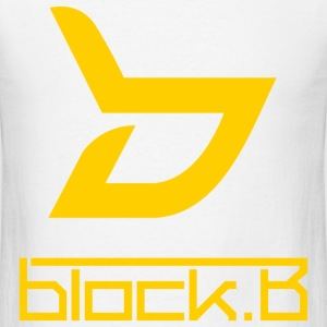 Block B Logo (with back) - Men's T-Shirt