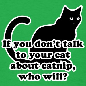 Catnip T-Shirts - Men's T-Shirt