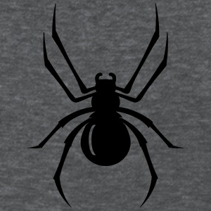a black spider with eight legs  Women's T-Shirts - Women's T-Shirt