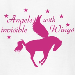Horse - Angel - Fantasy Kids' Shirts - Kids' T-Shirt