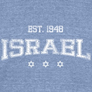 Israel-white T-Shirts - Unisex Tri-Blend T-Shirt by American Apparel