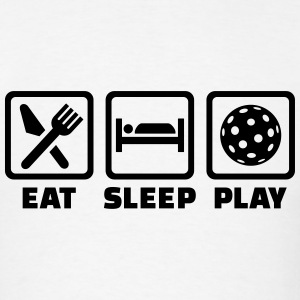 Eat Sleep Floorball T-Shirts - Men's T-Shirt