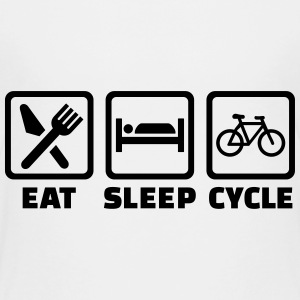 Eat Sleep Bicycle Kids' Shirts - Kids' Premium T-Shirt