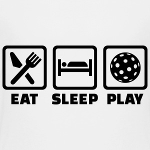 Eat Sleep Floorball Kids' Shirts - Kids' Premium T-Shirt