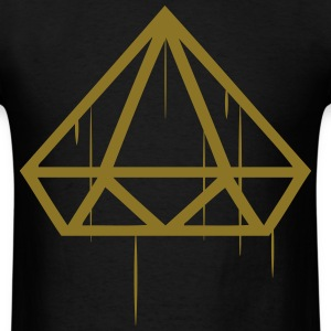 Gold Diamond Drip - Men's T-Shirt