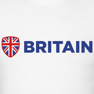 Britain Emblem Side 1 (3c)++2014 T-Shirts - Men's T-Shirt