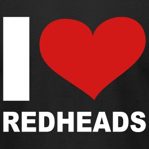 I Love Redheads, cairaart.com T-Shirts - Men's T-Shirt by American Apparel