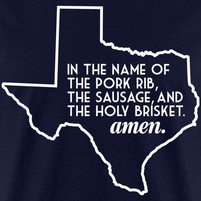 The Texas BBQ Prayer