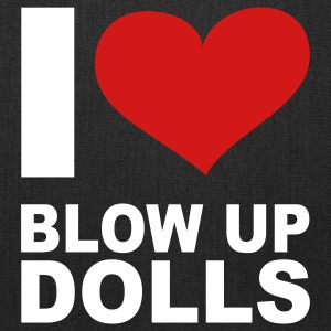 I Love Blow Up Dolls, cairaart.com Bags & backpacks - Tote Bag