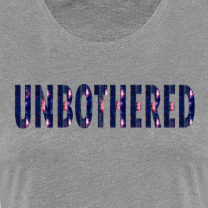 UNBOTHERED-COSMIC Women's T-Shirts - Women's Premium T-Shirt