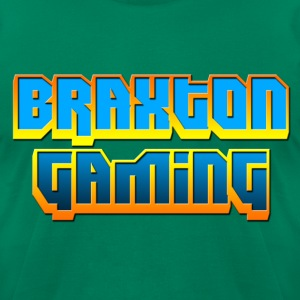 Braxton Gaming - Men's T-Shirt by American Apparel