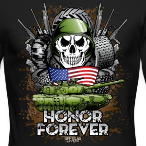 Offroad Military Memorial Long Sleeve Shirts - Men's Long Sleeve T-Shirt by Next Level