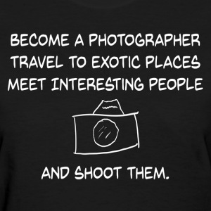 Photographer - Womens - Women's T-Shirt