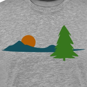 Sunset Landscape - Men's Premium T-Shirt