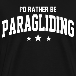 id_rather_be_paragliding T-Shirts - Men's Premium T-Shirt