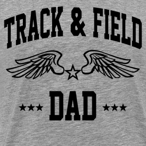 track_and_field_dad T-Shirts - Men's Premium T-Shirt