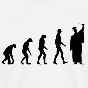 Evolution Student Diploma T-Shirts - Men's Premium T-Shirt