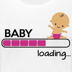 Baby loading Women's T-Shirts