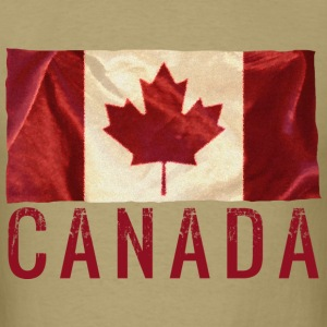 Canada - White T-Shirt - Men's T-Shirt