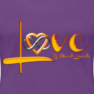Love Without Limits Tee  - Women's Premium T-Shirt