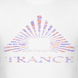 trance pyramid cloud - Men's T-Shirt