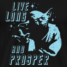 Star Trek Yoda Star Wars Spock Mash Up T-Shirt